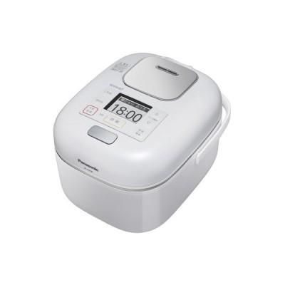パナソニック 可変圧力IHジャー炊飯器(3合炊き) 豊穣ホワイト Panasonic Wおどり炊き SR-JW058-W 返品種別A