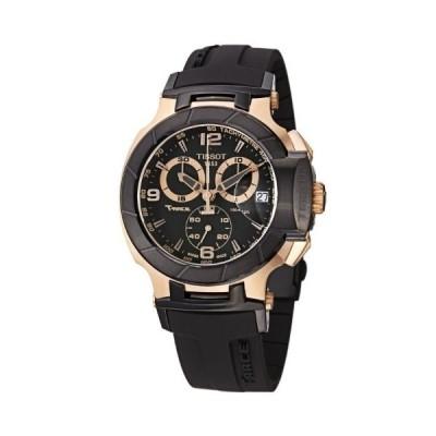 ティソ Tissot Men's T-Race Chronograph - T0484172705706 Black/Black One Size 並行輸入品
