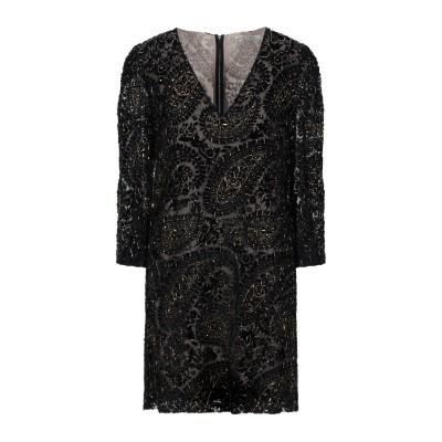 アリス・アンド・オリビア ALICE + OLIVIA ミニワンピース&ドレス ブラック 6 レーヨン 100% ミニワンピース&ドレス