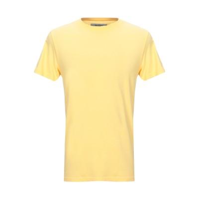 フォーティーウエフト 40WEFT T シャツ イエロー S コットン 100% T シャツ