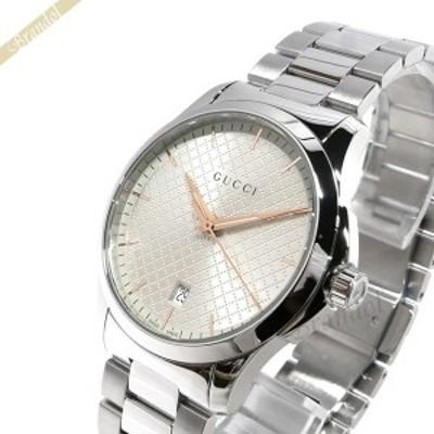 グッチ GUCCI メンズ腕時計 Gタイムレス G-Timeless 40mm シルバー YA1264052