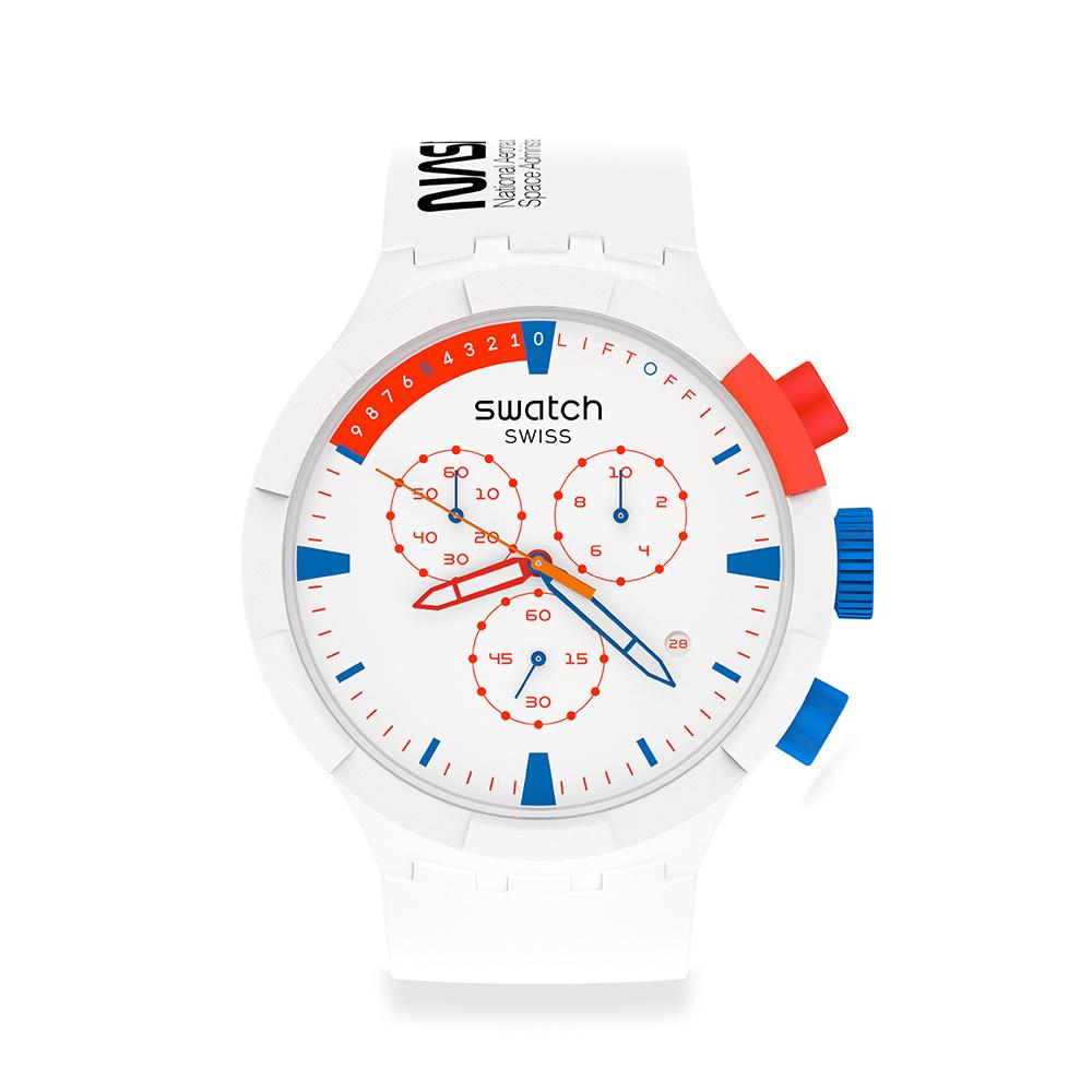 【SWATCH】BIG BOLD系列手錶EXTRAVEHICULAR NASA (47mm)  SB04Z400