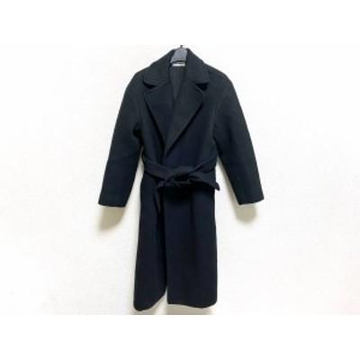 ミラオーウェン Mila Owen コート サイズF レディース 美品 - 黒 長袖/冬【中古】20210209