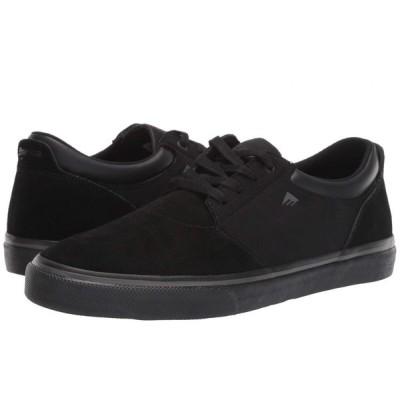 エメリカ Emerica メンズ スニーカー シューズ・靴 Alcove Black/Black/Grey