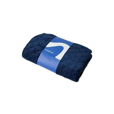 mofua(モフア) 敷きパッド シングル ネイビー ふんわり 静電気防止加工 プレミアムマイクロファイバー 50010107