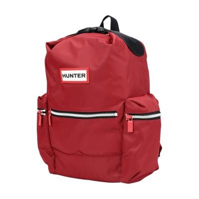 ハンター HUNTER バックパック&ヒップバッグ レッド ナイロン 100% バックパック&ヒップバッグ