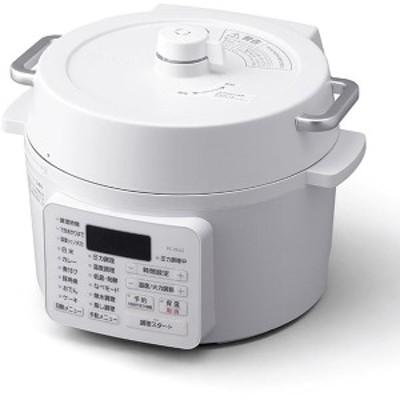 【 新品 】 アイリスオーヤマ 電気圧力鍋 2.2L ホワイト ( PC-MA2-W )