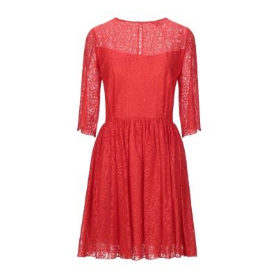 デニーローズ DENNY ROSE ミニワンピース&ドレス レッド 44 ポリエステル 92% / ポリウレタン 8% ミニワンピース&ドレス