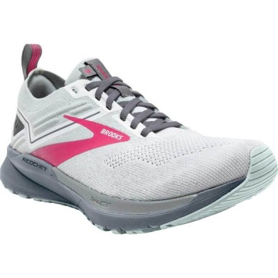 ブルックス Brooks レディース ランニング・ウォーキング スニーカー シューズ・靴 Ricochet 3 Running Sneaker White/Ice Flow/Pink