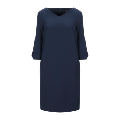 ANTONELLI ミニワンピース&ドレス ダークブルー 40 ポリエステル 94% / ポリウレタン 6% ミニワンピース&ドレス