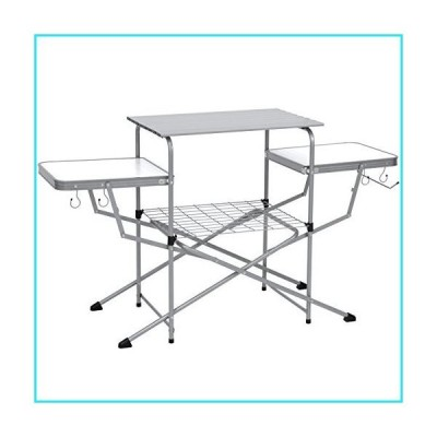 Best Choice Products Portable Outdoor Folding Camping Grilling Table w/Carrying Case【並行輸入品】