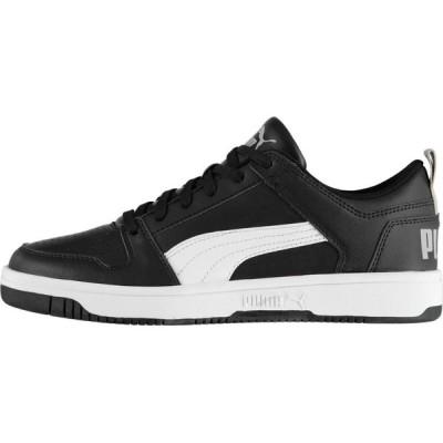 プーマ Puma メンズ スニーカー シューズ・靴 Rebound Lay Up Lo SL Trainers Black/White