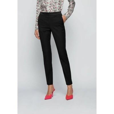 ボス カジュアルパンツ レディース ボトムス TAXTINY - Trousers - black
