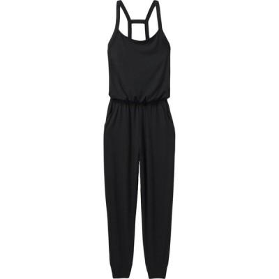 プラーナ PRANA レディース オールインワン ジャンプスーツ ワンピース・ドレス Inigma Jumpsuit SOBK BLACK