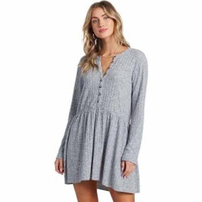 ビラボン Billabong レディース ワンピース ワンピース・ドレス Always Lounging Dress Athletic Grey
