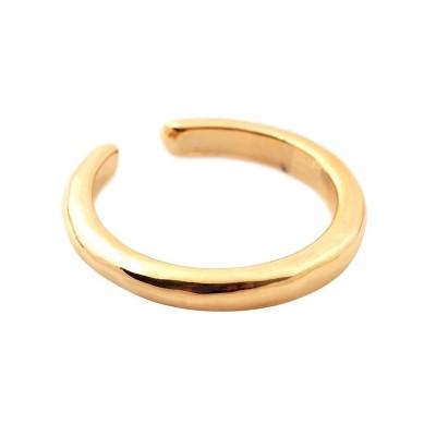 (cream dot/クリームドット)3タイプのメタルデザインから選べる片耳用イヤ―カフ/レディース ゴールド系2