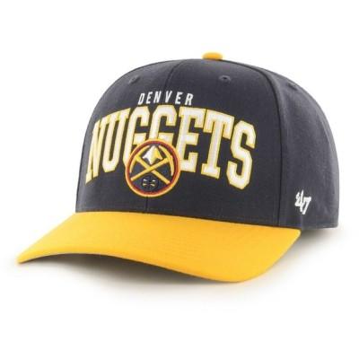 フォーティセブン 47 メンズ キャップ 帽子 Denver Nuggets MVP Adjustable Hat