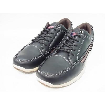 エドウィン スニーカー メンズ カジュアル シューズ 靴 EDWIN EDM5520 BLK ブラック 黒 ウォーキングシューズ 普段履き クッション抜群