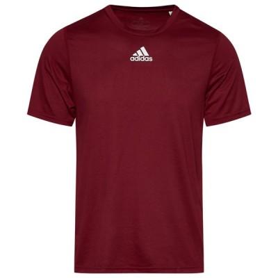 アディダス メンズ Tシャツ adidas Team Creator Short Sleeve T-Shirt - Collegiate Burgundy