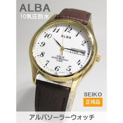 【7年保証】セイコー(SEIKO) アルバ(ALBA) SOLAR(ソーラー)メンズ 男性用腕時計【AEFD544】(国内正規品)