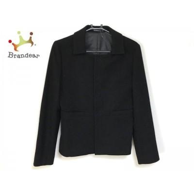 イネド INED コート サイズ2 M レディース 黒 ショート丈/冬物  スペシャル特価 20210314