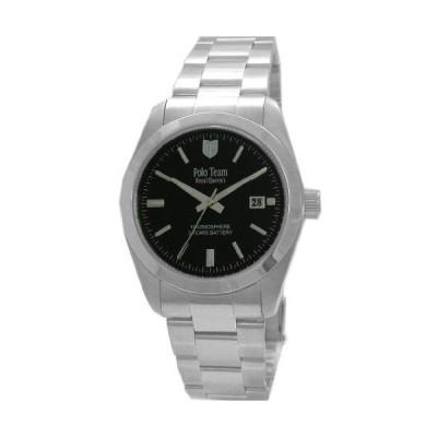 [ポロチーム] 腕時計 QA-6085 シルバー