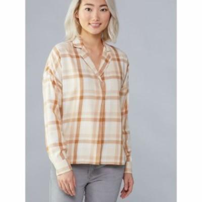 レイ REI Co-op レディース ブラウス・シャツ トップス Norseland Long-Sleeve Woven Shirt wallace lake plaid macadamia