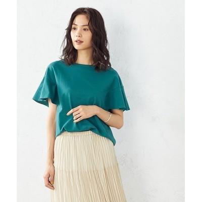 COMME CA ISM / フリル袖 プルオーバー WOMEN トップス > Tシャツ/カットソー