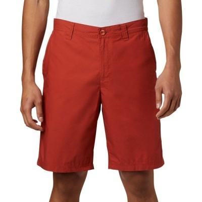 コロンビア カジュアルパンツ ボトムス メンズ Columbia Men's Washed Out Shorts (Regular and Big & Tall) CarnelianRed