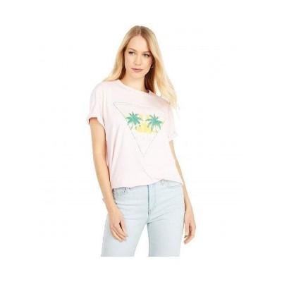 Show Me Your Mumu ショーミーユアムームー レディース 女性用 ファッション Tシャツ Sandlot Tee - Talk to the Palm Graphic