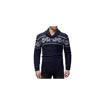 セーター メンズ 長袖 プルオーバー 厚手 防寒 暖かい あったか カジュアル おしゃれ トップス 秋物 冬物 新作 送料無料
