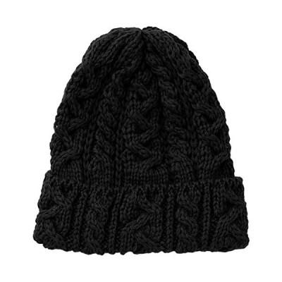 ハイランド2000 ニット帽 HL-2 メンズ Black UK F-(FREE サイズ)