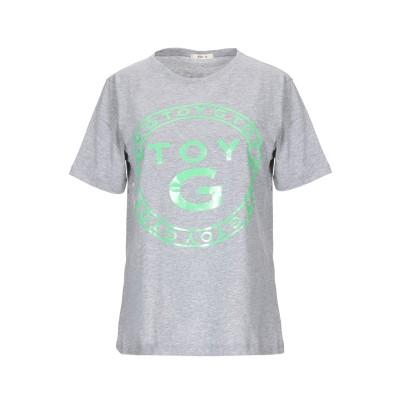 TOY G. T シャツ グレー XS コットン 100% T シャツ