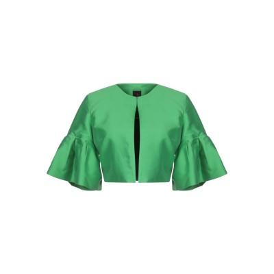 HANITA テーラードジャケット グリーン 40 アセテート 65% / レーヨン 35% テーラードジャケット