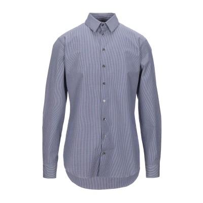 ジョルジオ アルマーニ GIORGIO ARMANI シャツ ダークブルー 40 コットン 100% シャツ