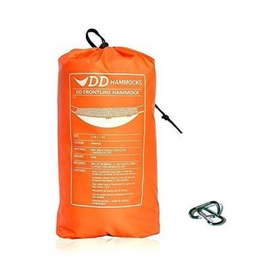 DD Frontline Hammock フロントラインハンモック (Sunset orange) & Mini Karabiners 2個付きセット [並行輸入品]