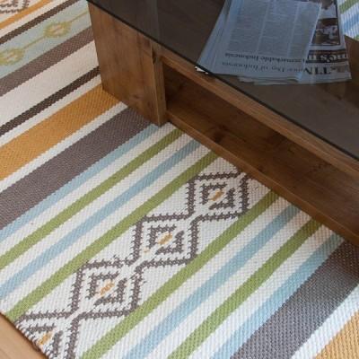 ラグ 190×130 長方形 マット 絨毯 ラグマット 幾何学 オシャレ / 上代の35%OFF / ポイント2倍 / 送料無料