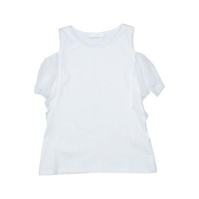 ビブロス BYBLOS T シャツ ホワイト 8 レーヨン 96% / ポリウレタン 4% T シャツ