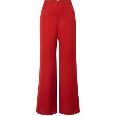 THE ROW パンツ レッド 4 シルク 100% パンツ