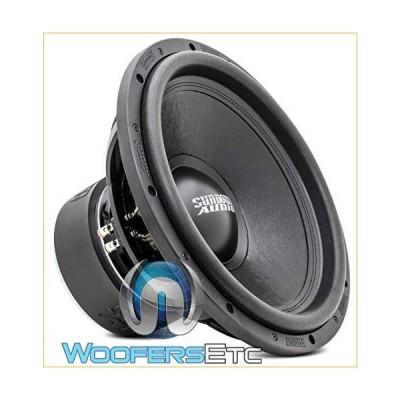 "SUNDOWN AUDIO SA-15 V.2 D4 15"" 1000W RMS Dual 4-OHM SUBWOOFER BASS Speaker New 並行輸入品"