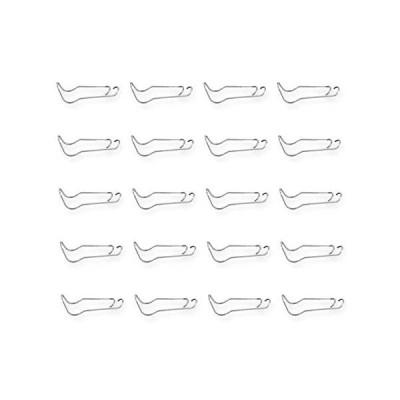TK.Felly 園芸クロスジョイント 支柱固定 家庭菜園 パーツ クロスバンド 20個セット (20mm) (20mm)