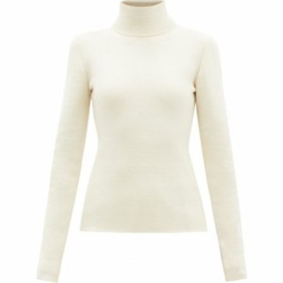 ガブリエラ ハースト Gabriela Hearst レディース ニット・セーター トップス Myers cashmere-blend roll-neck sweater Ivory