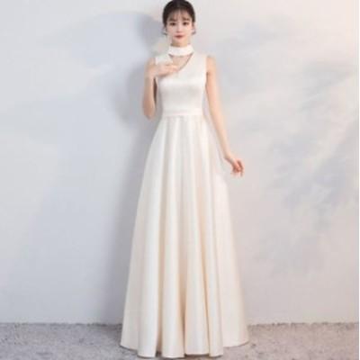 パーティードレス 結婚式 二次会 ワンピース 結婚式 お呼ばれ ドレス 20代 30代 40代 結婚式 お呼ばれドレス Vネック ビーズ パーティー