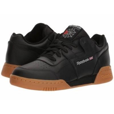 Reebok Lifestyle リーボック メンズ 男性用 シューズ 靴 スニーカー 運動靴 Workout Plus Black/Carbon/Classic Red/Reebok【送料無料】
