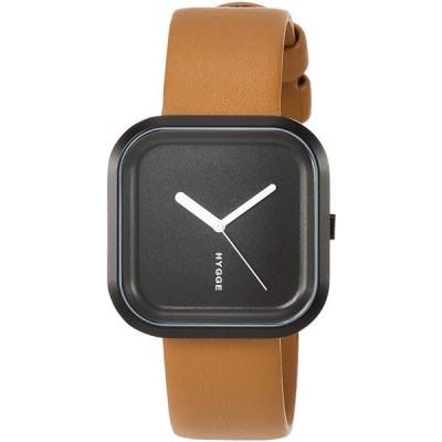 ヒュッゲ 腕時計 HGE020092 ブラウン