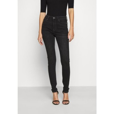 オンリー レディース ジーンズ ONLBLAKE LIFE SKIN - Jeans Skinny Fit - black