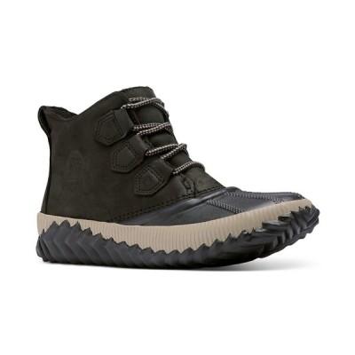ソレル ブーツ&レインブーツ シューズ レディース Women's Out N About Plus Boots Black