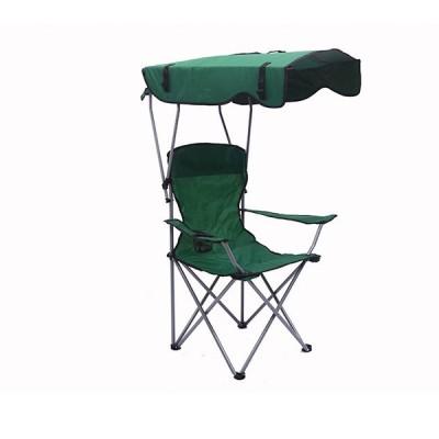 付折りたたみ式椅子 イス アームレスト 日焼け対策 日よけ付きチェア 日傘 アウトドア キャンプ スポーツ観戦 お釣り フィッシング