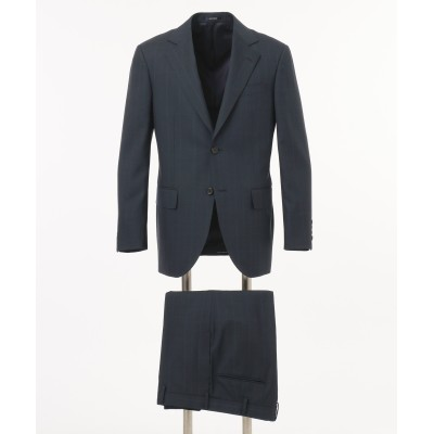 【Essential Clothing】シャドーウィンドーペン スーツ / 背抜・ノータック