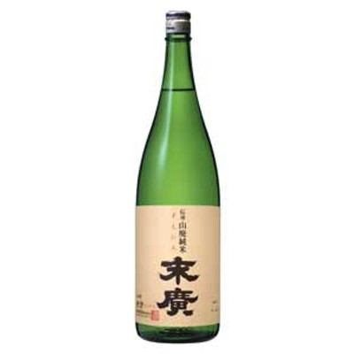 【末廣酒造】 伝承山廃純米 末廣 1.8L 【純米】 [J428]
